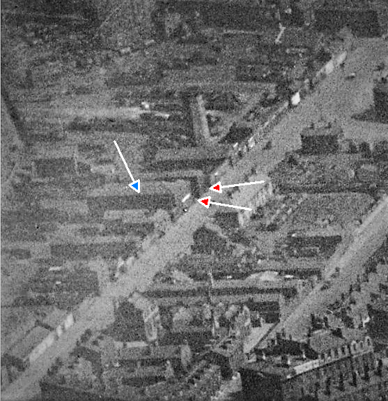liverpool crown st aerial view 2 1934 with arrows