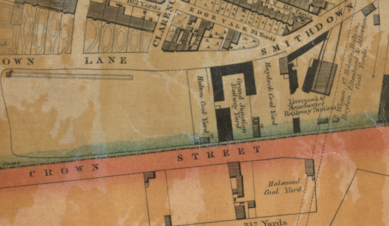 liverpool gage map crown st